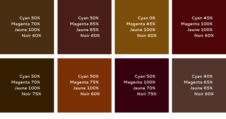 Guide pao onimajine for Peinture couleur chocolat